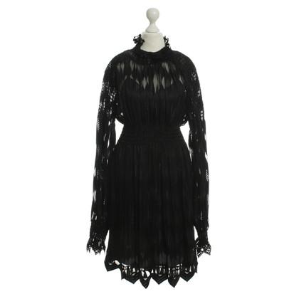 Anna Sui Jurk in zwart