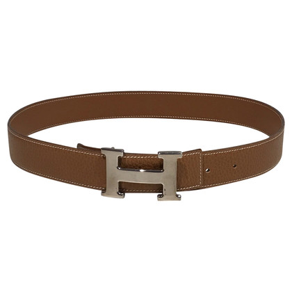Hermès Belt with H clasp palladium