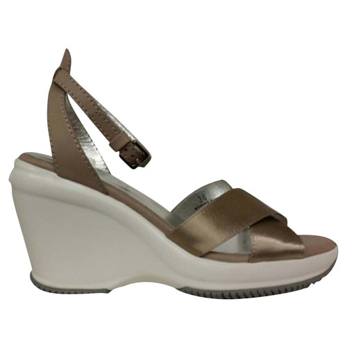 1c542c7caf6 Hogan Sandals with wedge heel - Second Hand Hogan Sandals with wedge ...
