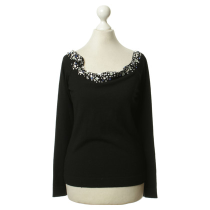 Blumarine Sun jewel embellished sweater