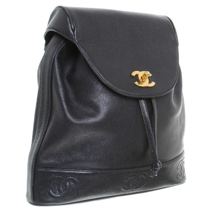 Chanel Backpack in black