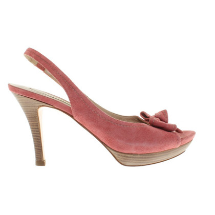 Pura Lopez Sandals in pink