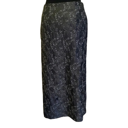 Philosophy di Alberta Ferretti Grey long skirt