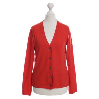 Other Designer MC rose - cashmere jacket in red