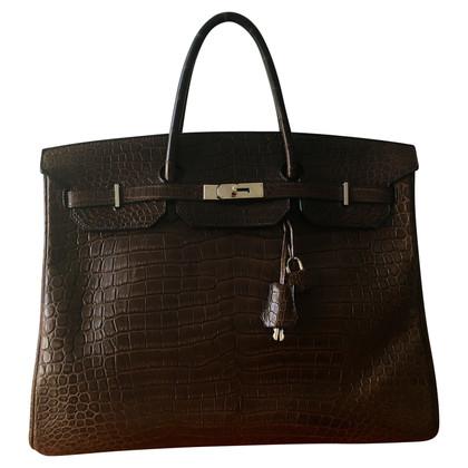 """Hermès """"Birkin Bag 40"""" aus Krokodilleder"""