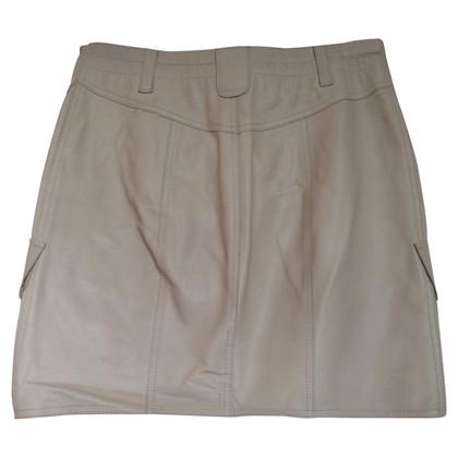 Marc Cain Short leather skirt