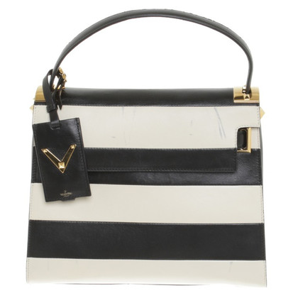 Valentino Handbag with stripes