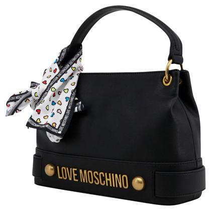 Moschino Love Handtasche mit Tuch