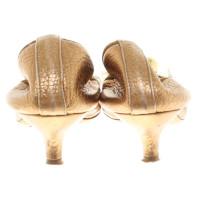Chloé Gold color pumps