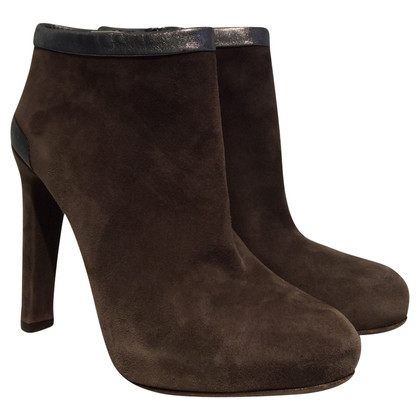 Fendi Ankle Boots in Taupe