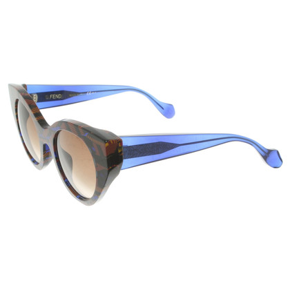 Fendi Sunglasses with graphic pattern