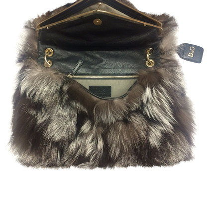 Dolce & Gabbana Real - fox fur bag