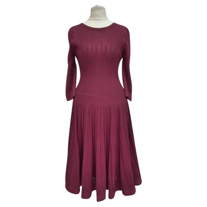Alaïa vestito lavorato a maglia