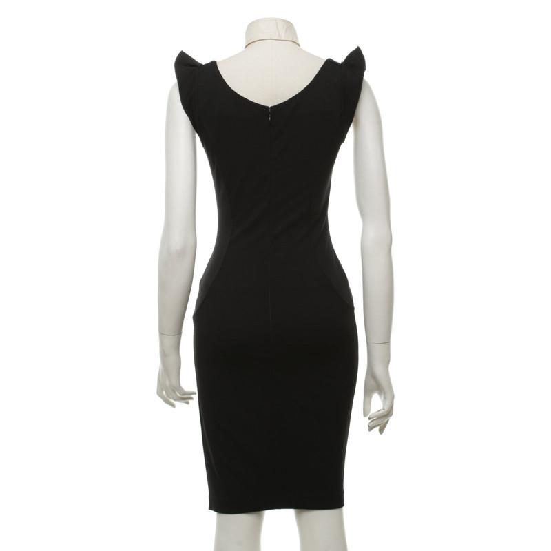 Armani kleid schwarz weiss