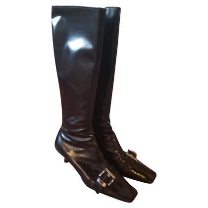 Prada Boots patent leather