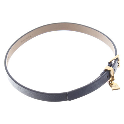 Hugo Boss Lederarmband in Blau