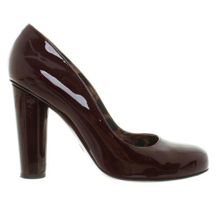 Dolce & Gabbana in pelle verniciata pumps