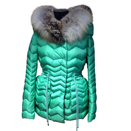 Ermanno Scervino Down jacket with fur