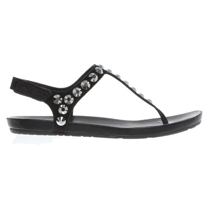 Pedro Garcia Sandals in black