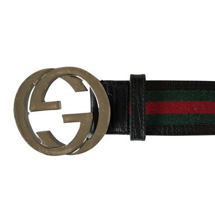 Gucci riem met logo-sluiting