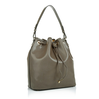 "Coccinelle ""Maya Saffiano bucket bag taupe"""