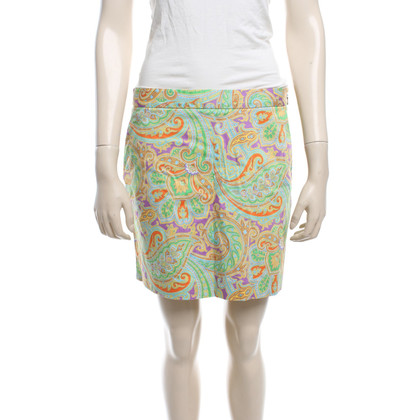 Ralph Lauren skirt with paisley pattern