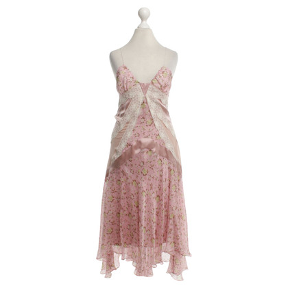 D&G Silk dress with floral pattern