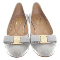 Salvatore Ferragamo Ballerinas in light grey