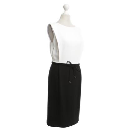 Karl Lagerfeld Dress in black / white