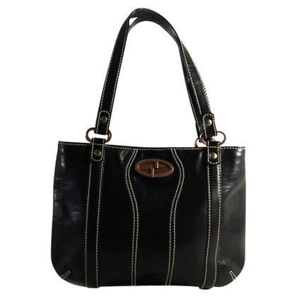 Gucci Shopping black leather