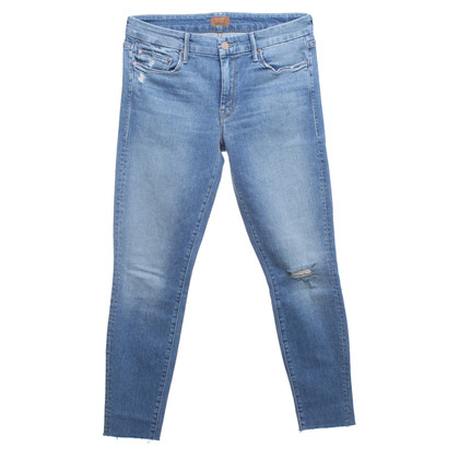 Mother Jeans en bleu clair