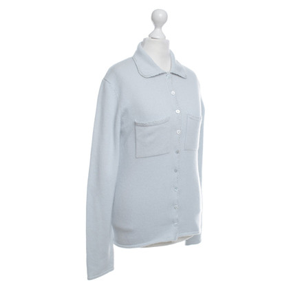 Iris von Arnim Twin-Set in Light Blue