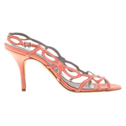 Anya Hindmarch Sandals in Korallrot