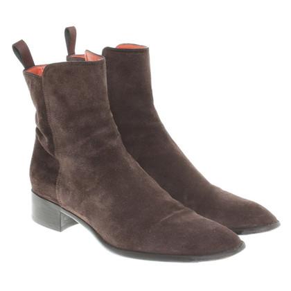 Santoni Boots gemaakt van suède