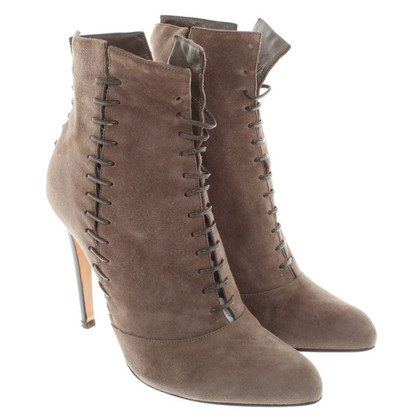 Gianvito Rossi Suede ankle boots in brown