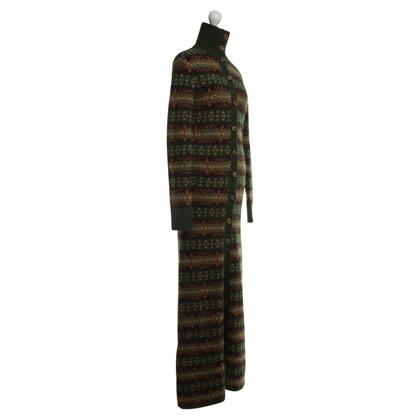 Ralph Lauren cappotto in maglia con motivo norvegese