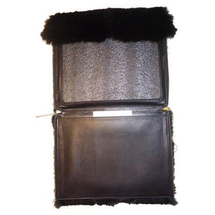 3.1 Phillip Lim IPad Case from rabbit fur