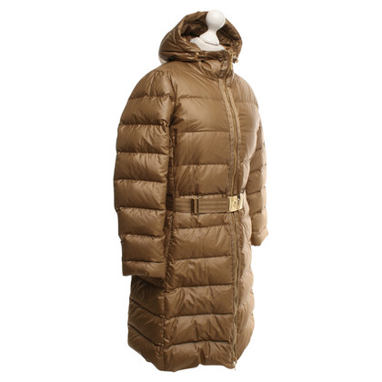Moncler Down jas in Bronze