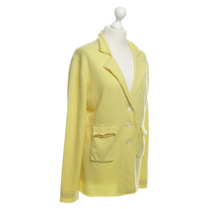 Allude Cashmere Blazer in yellow