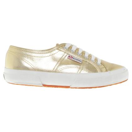 Superga scarpe da ginnastica color oro