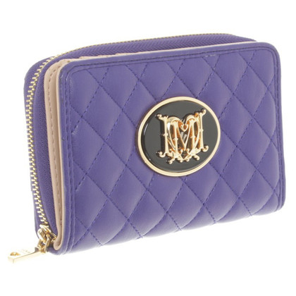 Moschino Love Wallet in purple
