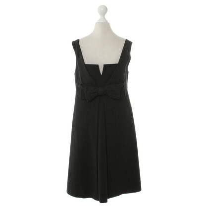 Red Valentino Dark gray dress with decorative bow