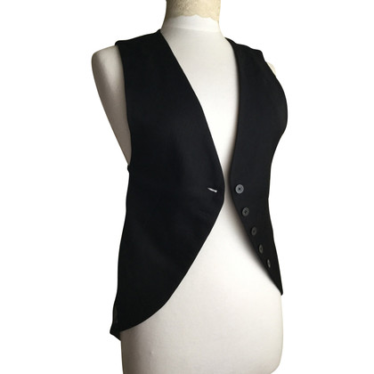 Ann Demeulemeester Vest with lace