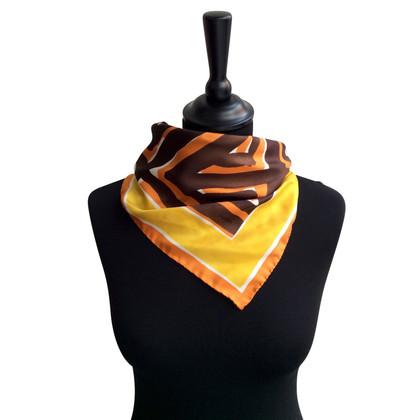 Prada Zijden sjaal met print
