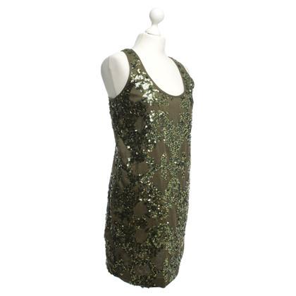 J. Crew Pailletten jurk in groen