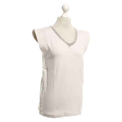 Brunello Cucinelli Knit top with V-neck