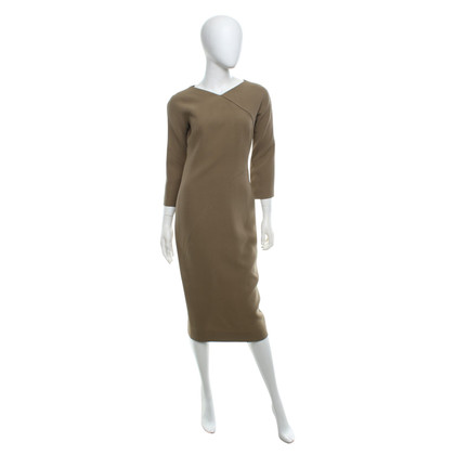 Victoria Beckham Dress in khaki