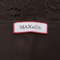 Max & Co Top con pizzo