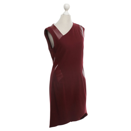 Helmut Lang Kleid in Bordeaux