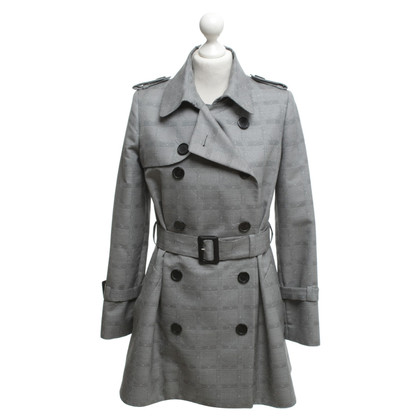 Christian Dior Trenchcoat met patroon
